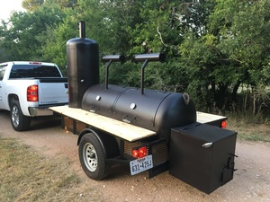 Loanables Trailer Smoker Rental Located In Austin Tx
