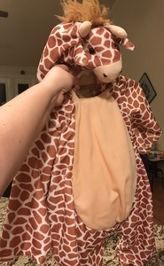 Toddler Giraffe Costume rental Dallas-Ft. Worth, TX