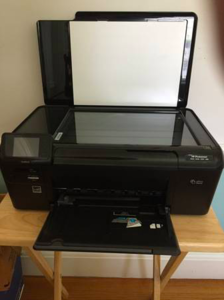 New Black HP Photosmart Printer D110 W/ Scanner  rental Boston, MA-Manchester, NH