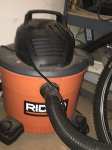 Rigid Shop Vac rental Boston, MA-Manchester, NH