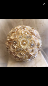 Brooch Bouquet  rental Houston, TX