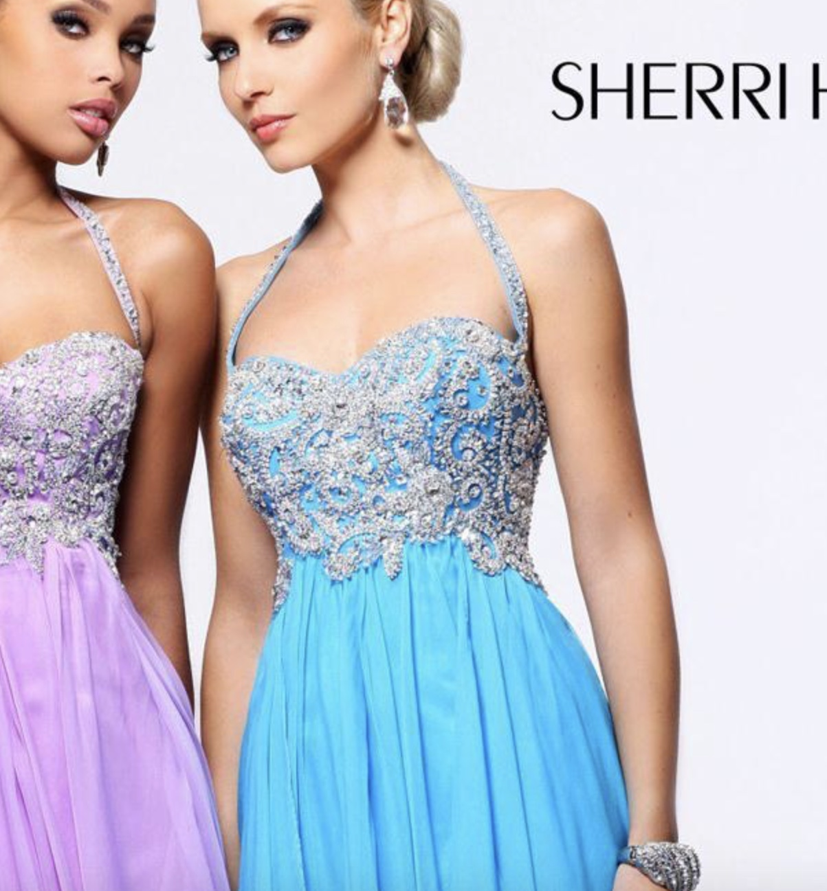 Sherri Hill Prom Dress style 3836 (blue) rental in San Diego, CA
