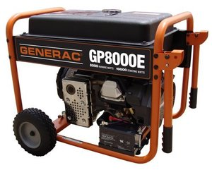Generac GP8000E Portable Generator       rental Miami-Ft. Lauderdale, FL