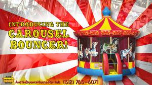 Carousel Bounce House Rental rental Austin, TX