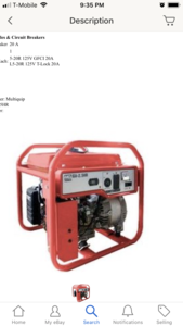 Generator rental Sacramento-Stockton-Modesto, CA