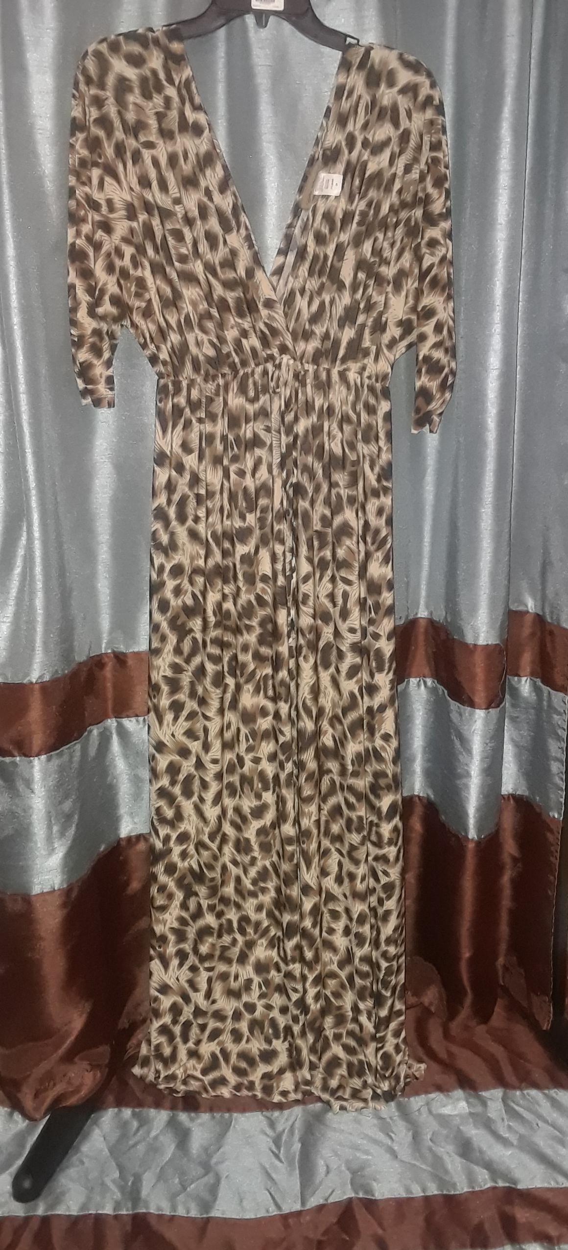 Loanables:Plus Size Chiffon Maxi Dress Rental located in ...