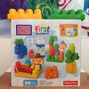 Nice 50 piece set of MEGA BLOKS rental New York, NY