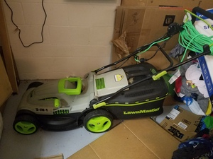 Brand new electric Lawnmaster Lawn Mower rental Tampa-St Petersburg (Sarasota), FL