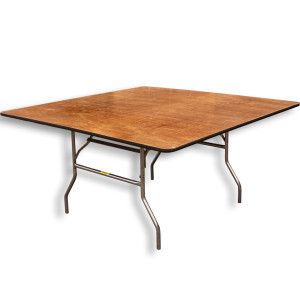 "60"" Square Table rental Austin, TX"