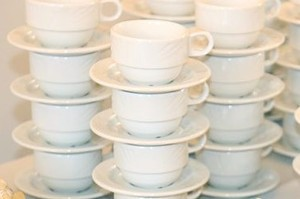 Coffee Cup Saucer rental Austin, TX