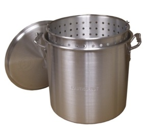 Crawfish or Shrimp Boil Pot, Strainer and Burner rental Austin, TX