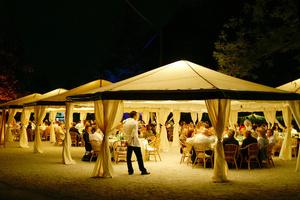 20 x 20 White Frame Tent rental Austin, TX