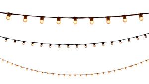 String Lights - 40' White rental Austin, TX
