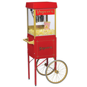 Popcorn Machine Cart rental Austin, TX