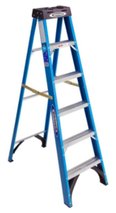 Werner 6-ft Fiberglass 250 lbs. Step Ladder rental New York, NY