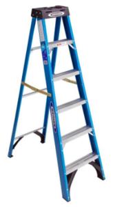 Werner 6-ft Fiberglass 250 lbs. Step Ladder rental New York, NY