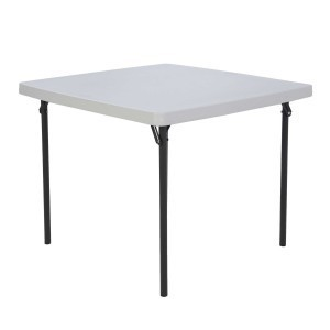 "36"" Square Folding Table rental Austin, TX"