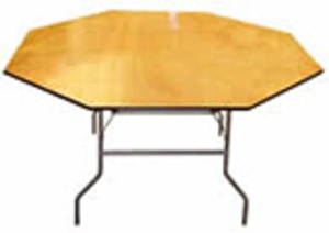 "48"" Octagon Table rental Austin, TX"