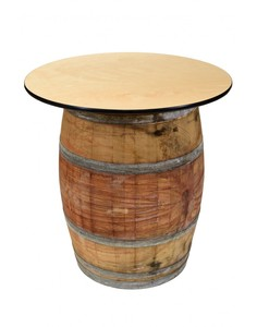 Wine Barrel Cocktail Table rental Austin, TX