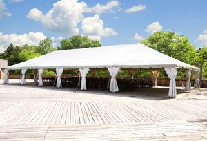 40 x 60 White Frame Tent rental Austin, TX