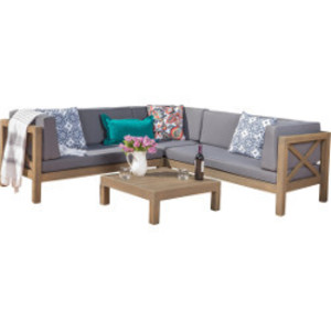 Swell Outdoor Sectional Sofa Coffee Table Pabps2019 Chair Design Images Pabps2019Com