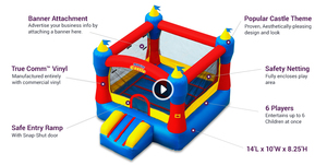 Bounce House: 6-person Commercial-grade rental Rochester, NY
