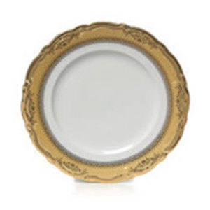 Gold Edge China Salad and Dessert Plate rental Austin, TX