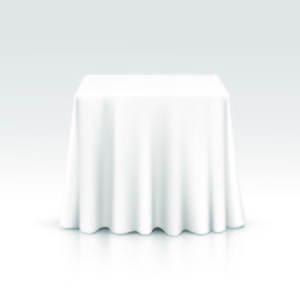 "54"" Square Table Linens rental Austin, TX"