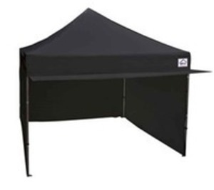 10 x 10 Black Pop Up Tent with Canopy rental Austin, TX