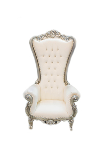 King & Queen Throne Chairs rental Austin, TX