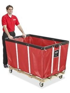 Vinyl Laundry Cart rental Austin, TX