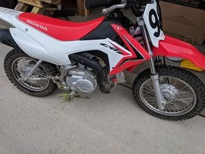 2017 Honda CRF-110F rental Cleveland-Akron (Canton), OH