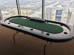 8ft Poker Table rental Austin, TX