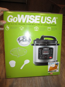 GoWise 6 QT Electric Pressure Cooker/ Slow Cooker rental Salt Lake City, UT
