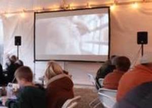 16' Outdoor Movie Package rental Austin, TX