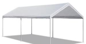 10 x 20 White Frame Tent rental Austin, TX