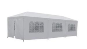 10 x 30 White Frame Tent rental Austin, TX