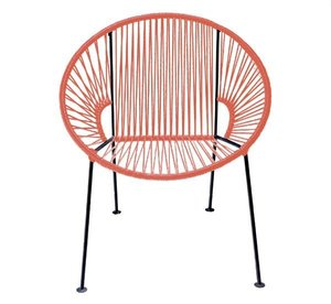 Coral PVC Cord Chair rental Austin, TX