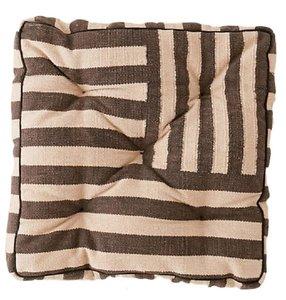 Striped Floor Cushion rental Austin, TX