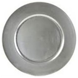 "Silver Acrylic Charger 13"" rental Austin, TX"