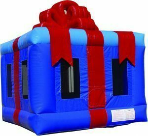 Christmas Gift Box Bounce House  rental Austin, TX