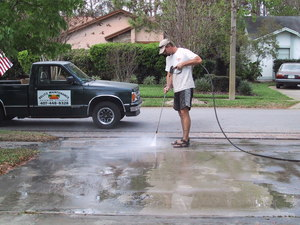 Pressure Washing Machine rental Orlando-Daytona Beach, FL