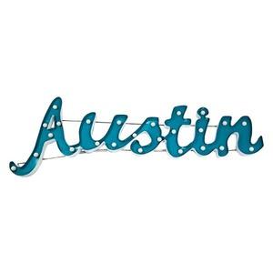 Lighted Austin Sign rental Austin, TX