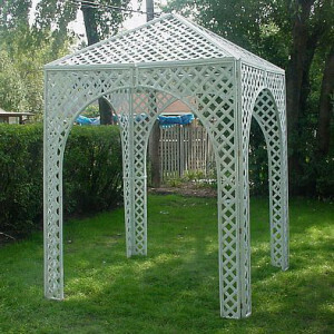 Lattice Gazebo rental Austin, TX