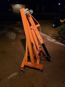 Orange 2-Ton Engine Hoist rental Phoenix, AZ
