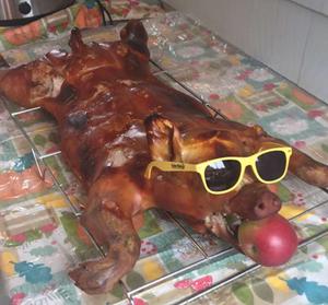 Pig Roaster rental Boston, MA-Manchester, NH