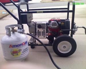6000 Watt Portable Propane Generator rental Little Rock-Pine Bluff, AR