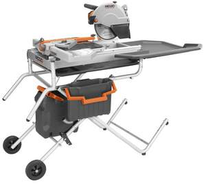 "10"" Job-Site Wet Tile Saw with Laser- Ridgid rental Austin, TX"