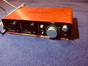 Focusrite Scarlett 2i2 Audio Interface rental Atlanta, GA