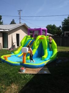 Inflatable kids water slide rental Bakersfield, CA